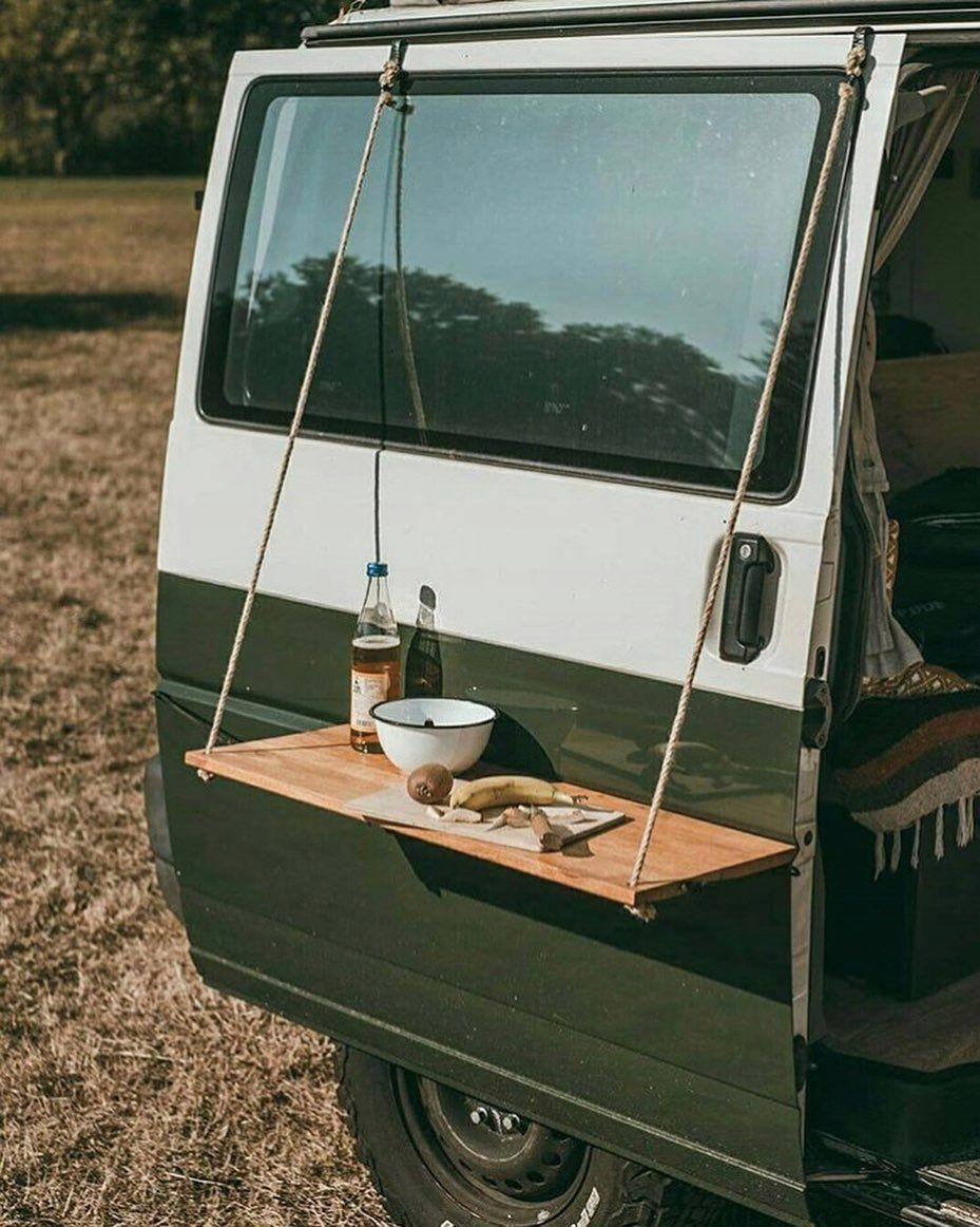 Photo of #campingtips Ein DIY-Hängetisch für Ihren Van! Wie cool ist das!? ⛺️🚐 Ÿ … –