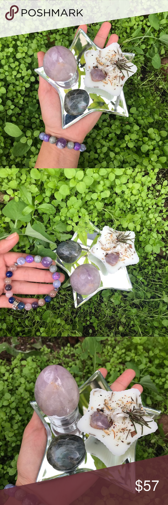Transformation  Protection Amethyst is a powerful  protective stone It guards against psychic attack transmuting the energy into love  protecting you from all types of ha...