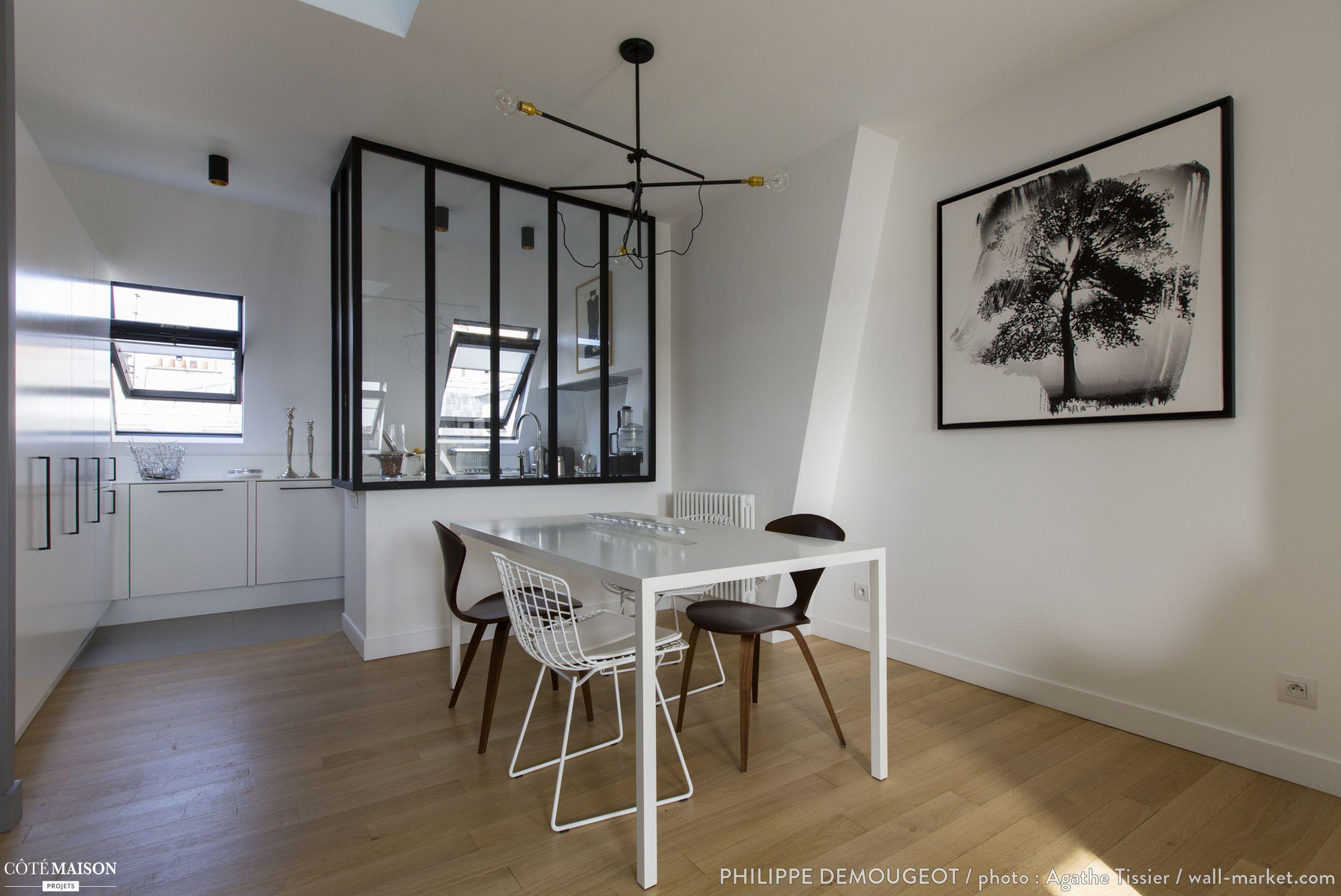 Comment Transformer Du0027anciennes Chambres De Bonne En Un Appartement  Chaleureux ?, Philippe Demougeot   Côté Maison