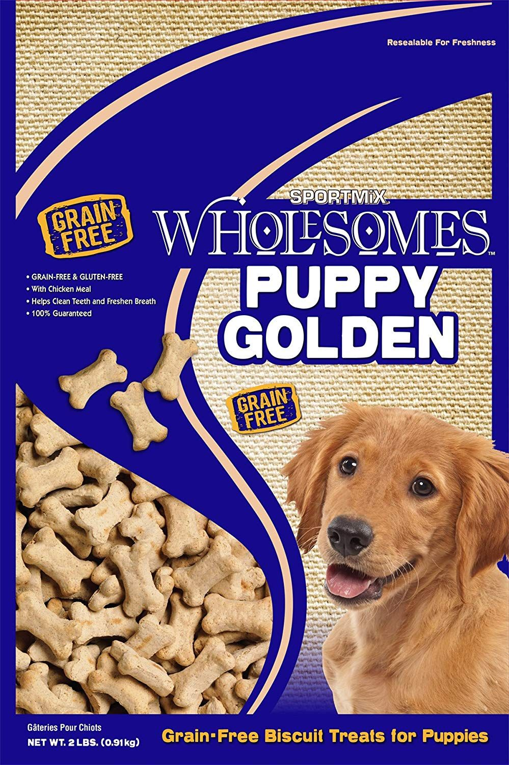 Midwestern Sportmix Premium Select Puppy Golden Biscuit Treats