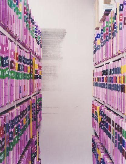 Tim Davis pink files office/hospital
