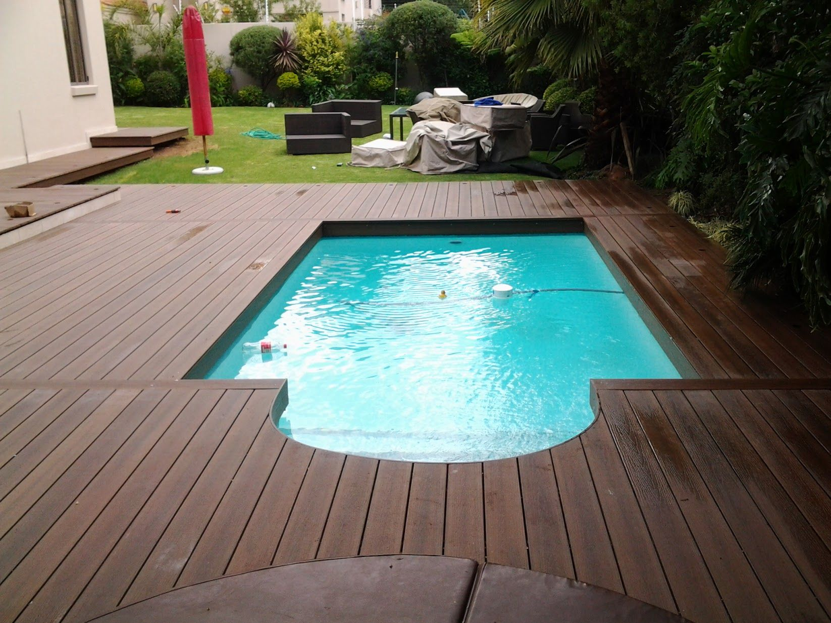 Eva Tech Infinity Deck Around Pool Decks Around Pools Wooden Pool Deck Pool Decks
