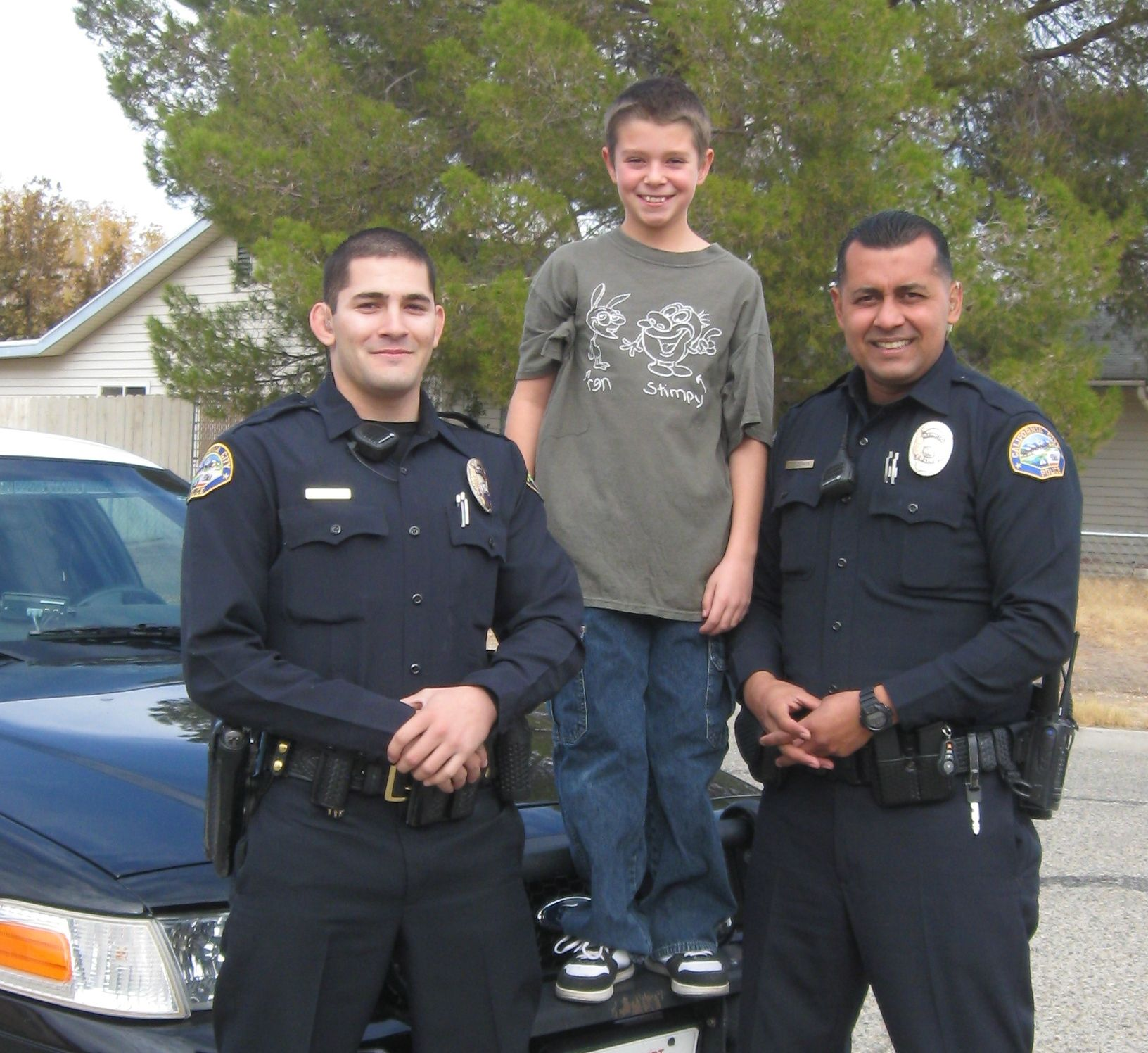 Bags4kids helps officers aquire comfort items for children.