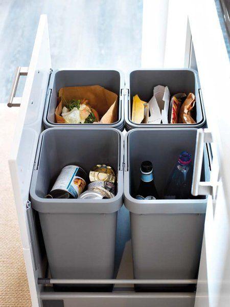 17 Ideas De Cubos Reciclaje Cubos Reciclaje Organización De Cocina Cocinas De Casa