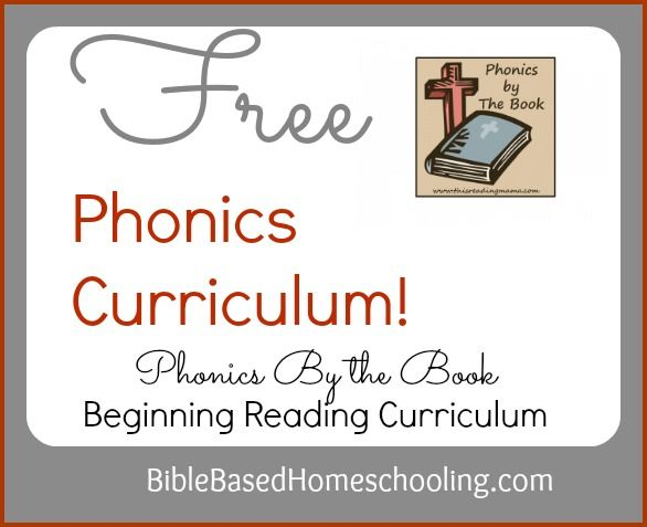 FREE} Phonics By the Book, Bible Based Curriculum from This ...