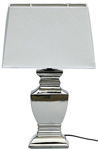 Elsa Lampe Tischlampe Shabby Chic Tischleuchte Silber Wei Https Www Amazon De Dp B00opdkwyw Ref Cm Sw R Pi Awdb X Wgmjybv5w Lampe Tischlampen Tischleuchte