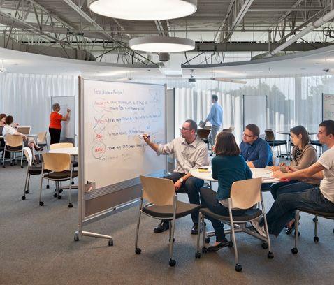 Harvard business school harvard innovation lab shepley for Office design for innovation