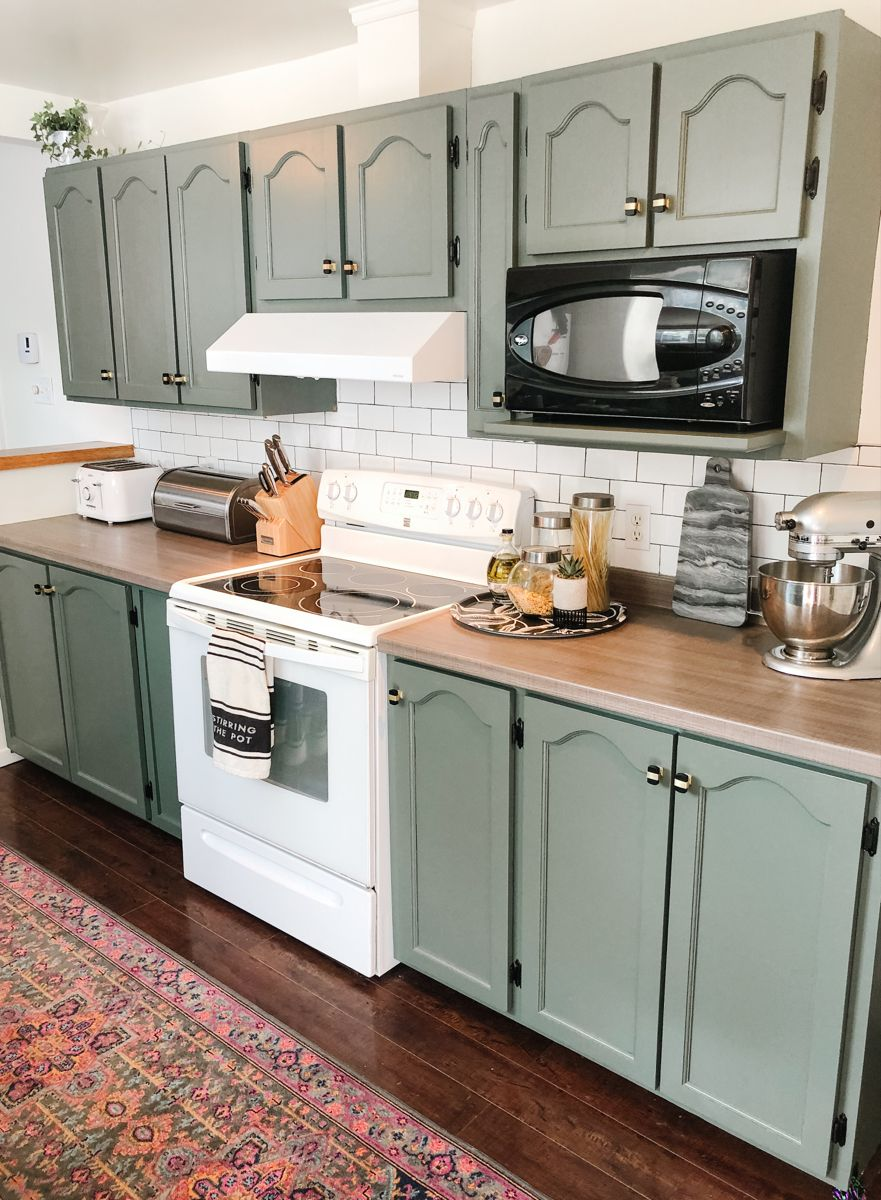 Sage Green kitchen cabinets -   17 sage green kitchen cabinets paint ideas