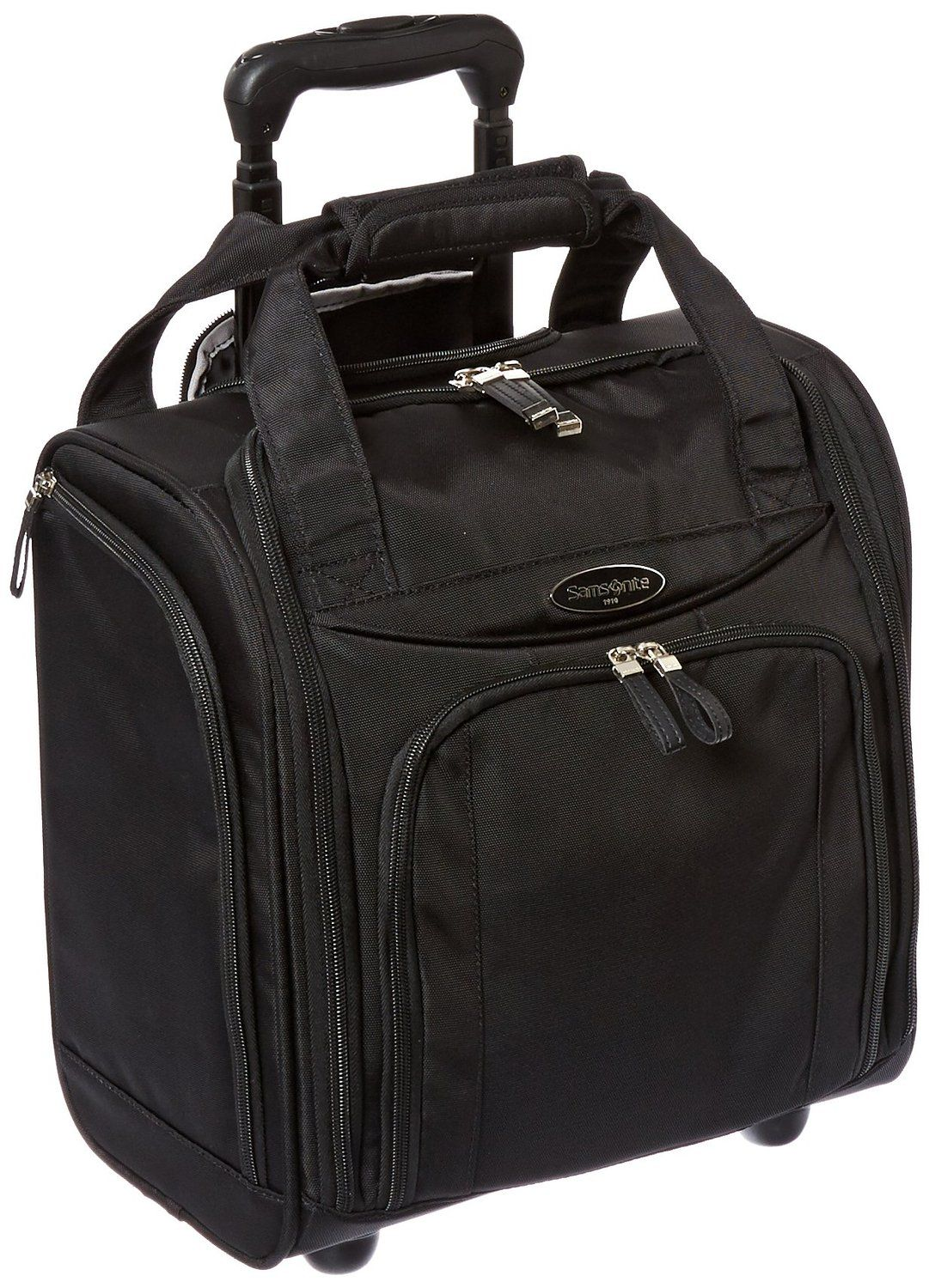 Samsonite Wheeled Underseater Small Black Carry Ons