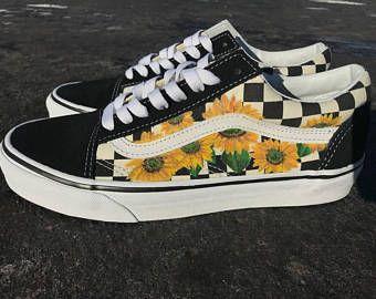 2ed65de224fbe2 Sunflower Checkered Old Skool Vans