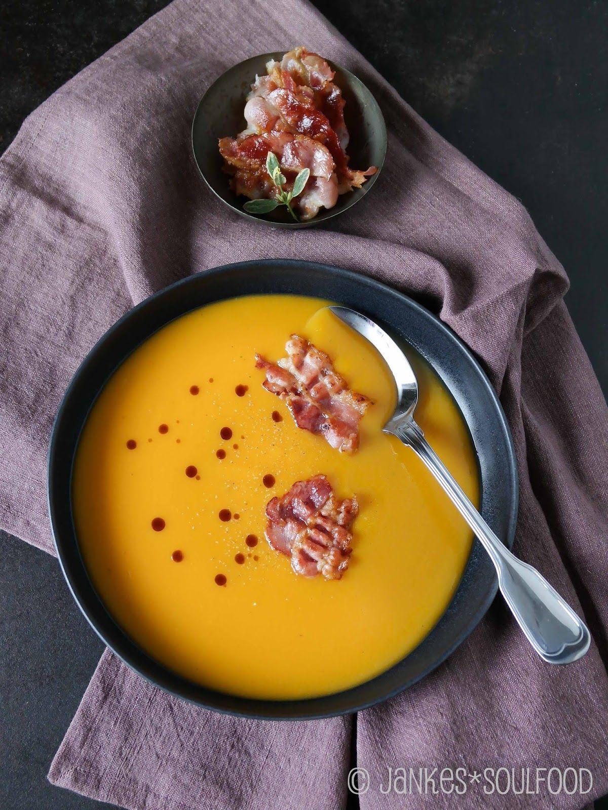 Butternut-Kürbis-Suppe