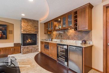 Nice Finished Basement Gallery Stone Wine Golf | Walk Up Bar Design Ideas,  Pictures, Remodel