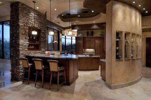 Kitchen Kitchen Pinterest Kitchen photos, Kitchens and Stone walls