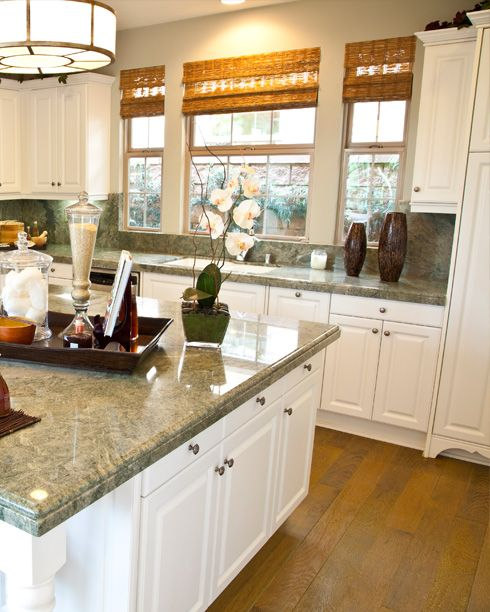 Kitchen Countertops Omaha: Costa-Esmeralda-Granite--will This Match?