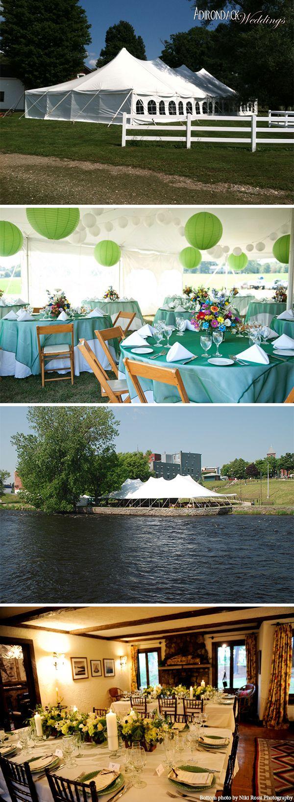 Fosters Tent Rentals Adirondack Weddings Magazine