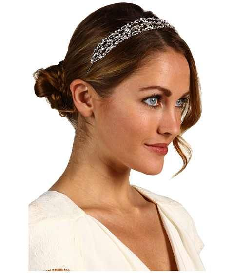 Wedding Hairstyle With Headband: Bridal Hairstyle-updo With Headband