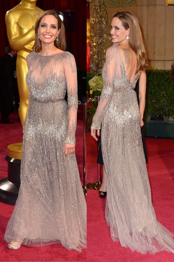 angelina jolie oscars 2014 so glam celebrity