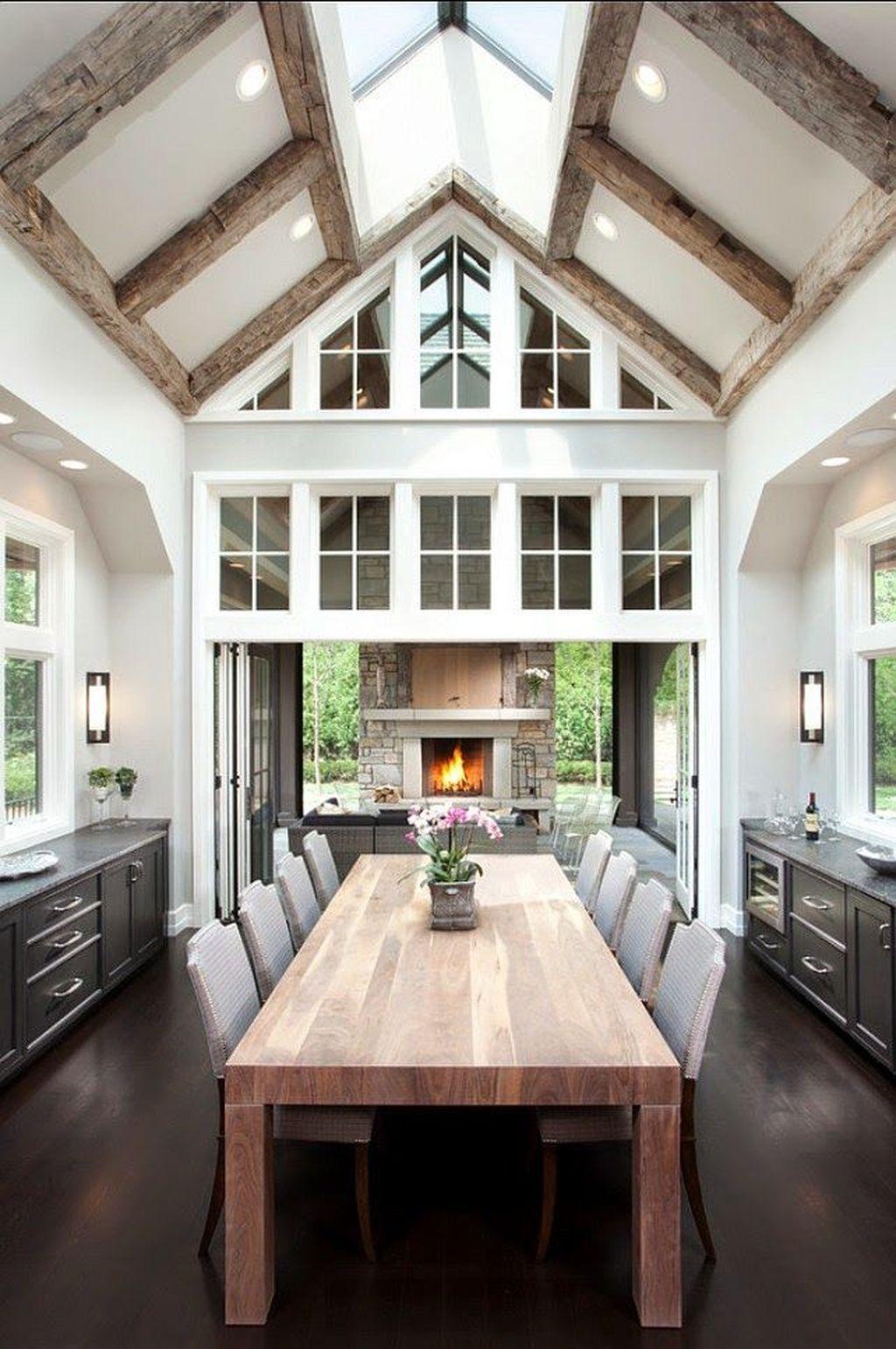 inspiring modern dining room design ideas also of victorian interior decorating home rh pinterest