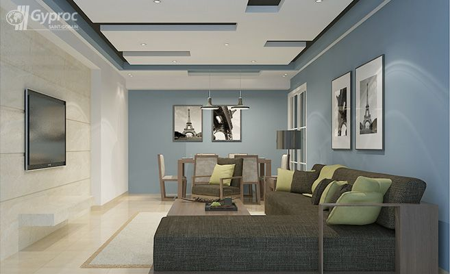 False Ceiling Drywall Saint Gobain Gyproc India Ceiling