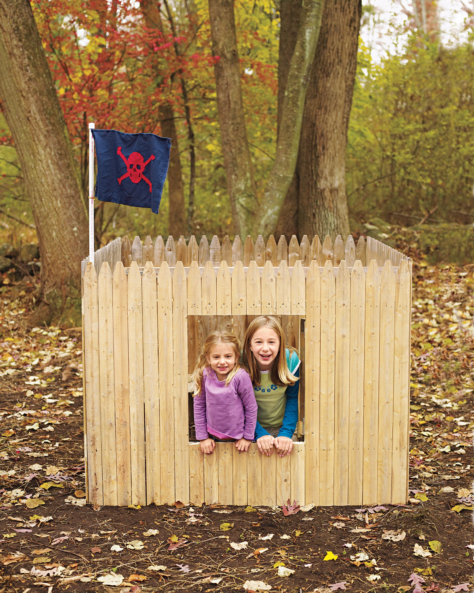 How to Build a Fort   Kids forts, Backyard fort, Outdoor forts