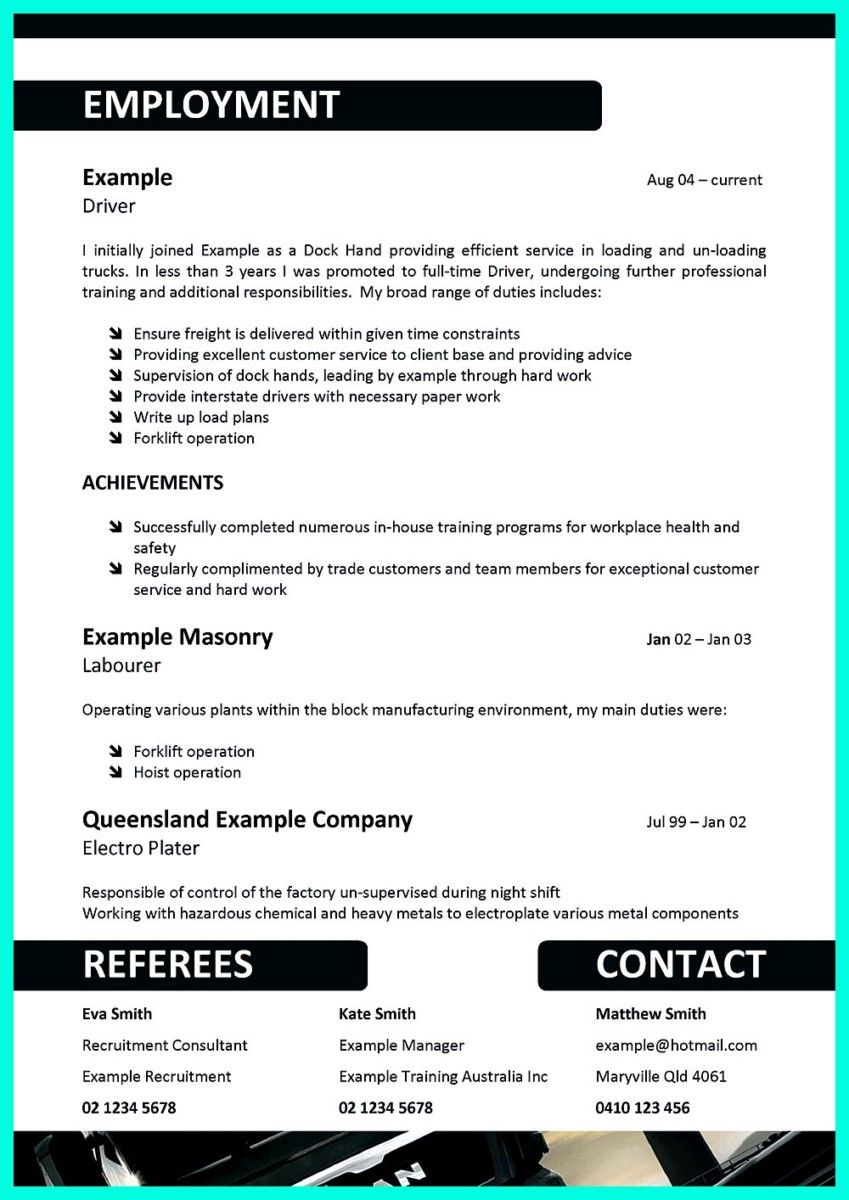 Pin en resume template | Pinterest