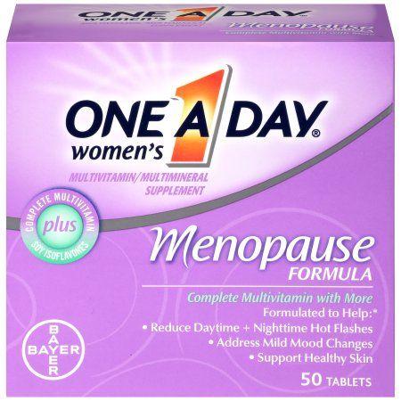 One A Day Women's Menopause Formula Multivitamin Supplement, 50 Count - Walmart.com