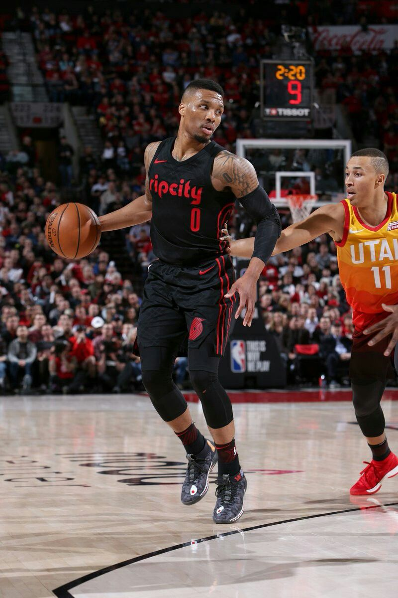 Damian Lillard Basketball Nba Sports Nba League