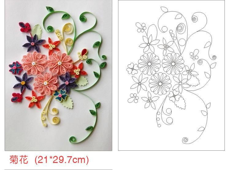 Necessary Diy Quilling Paper Patterns Quilling Template