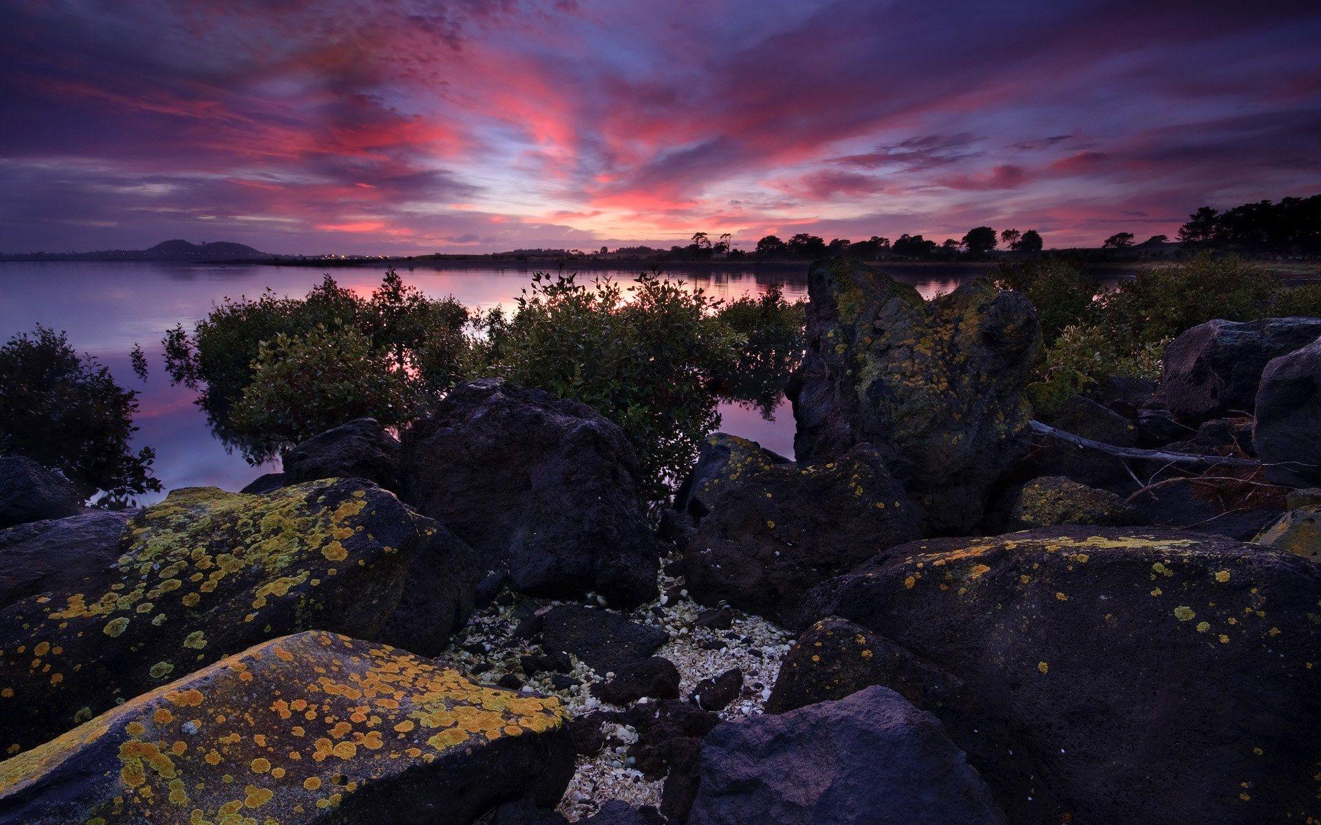 New Zealand Dusk Sunset New zealand attractions, Sunset
