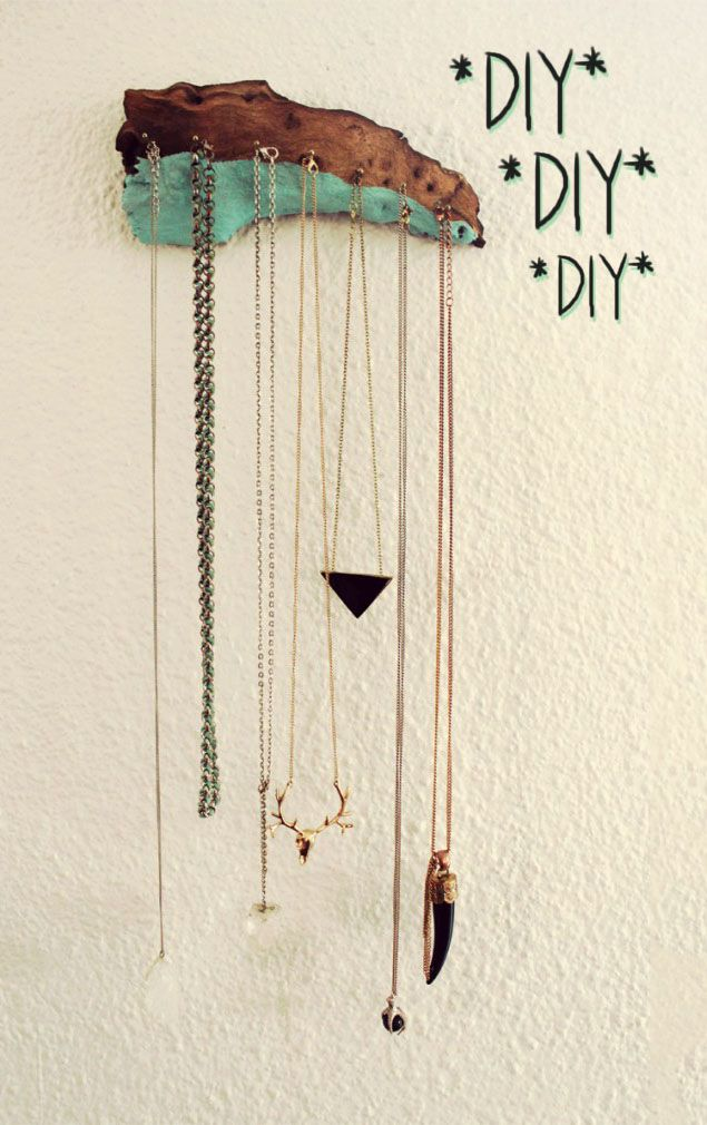 Halloween Schmuck Diy Necklace Holder | Bella & Diy | Schmuckhalter, Schmuck