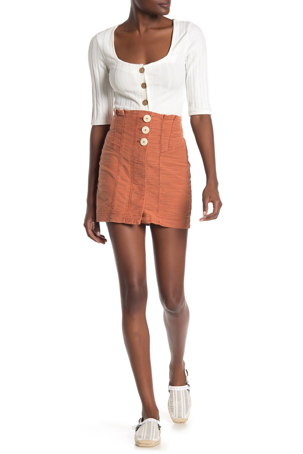 Free People Every Minute Every Hour Mini Skirt Nordstrom Rack