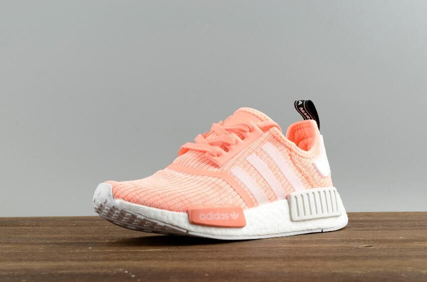 2ee2155b2b400 Authentic Adidas Original NMD R1 W BY3034 Real Boost Walking Sneakers Free  DHL Shipping for Online Sale 02