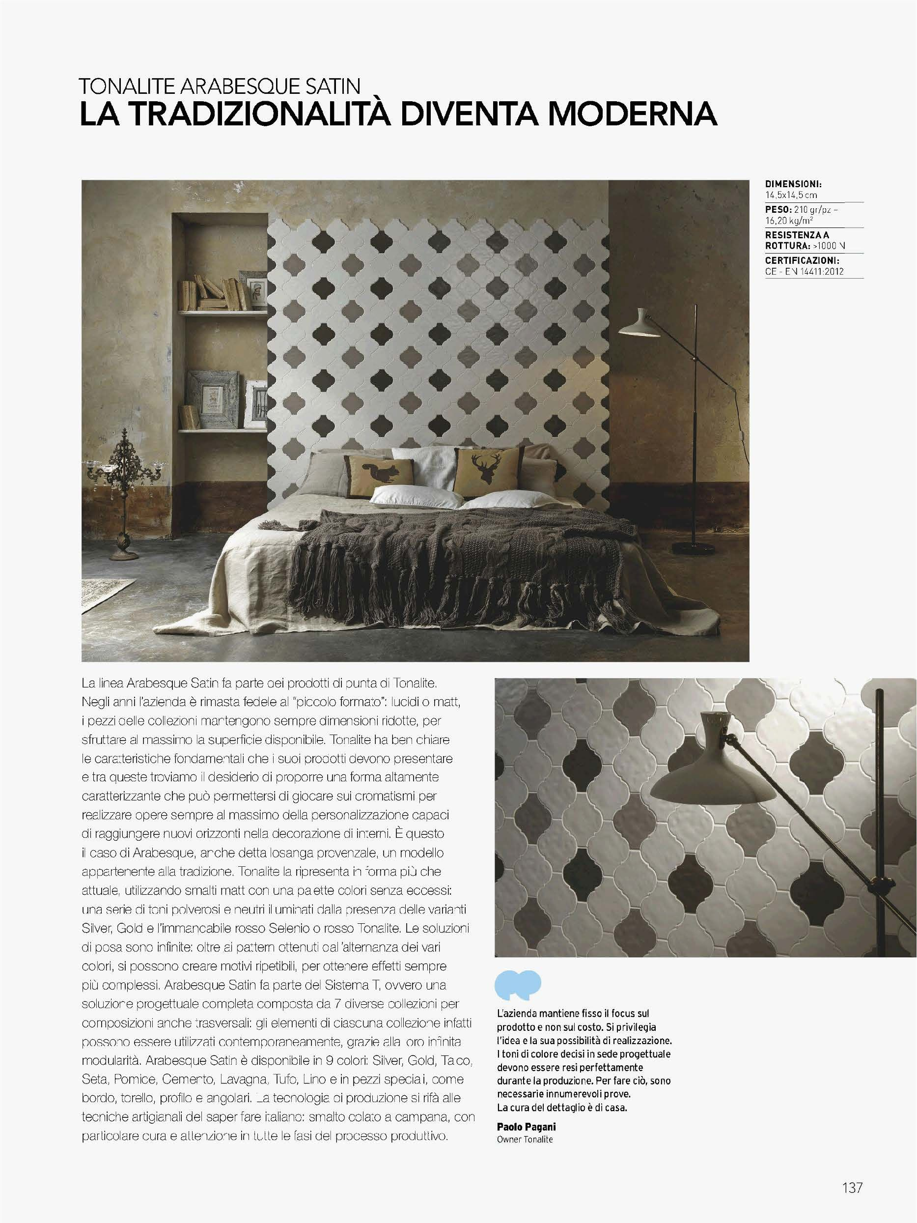 Tonalite S.p.A. is an Italian producer of high-end ceramic and ...