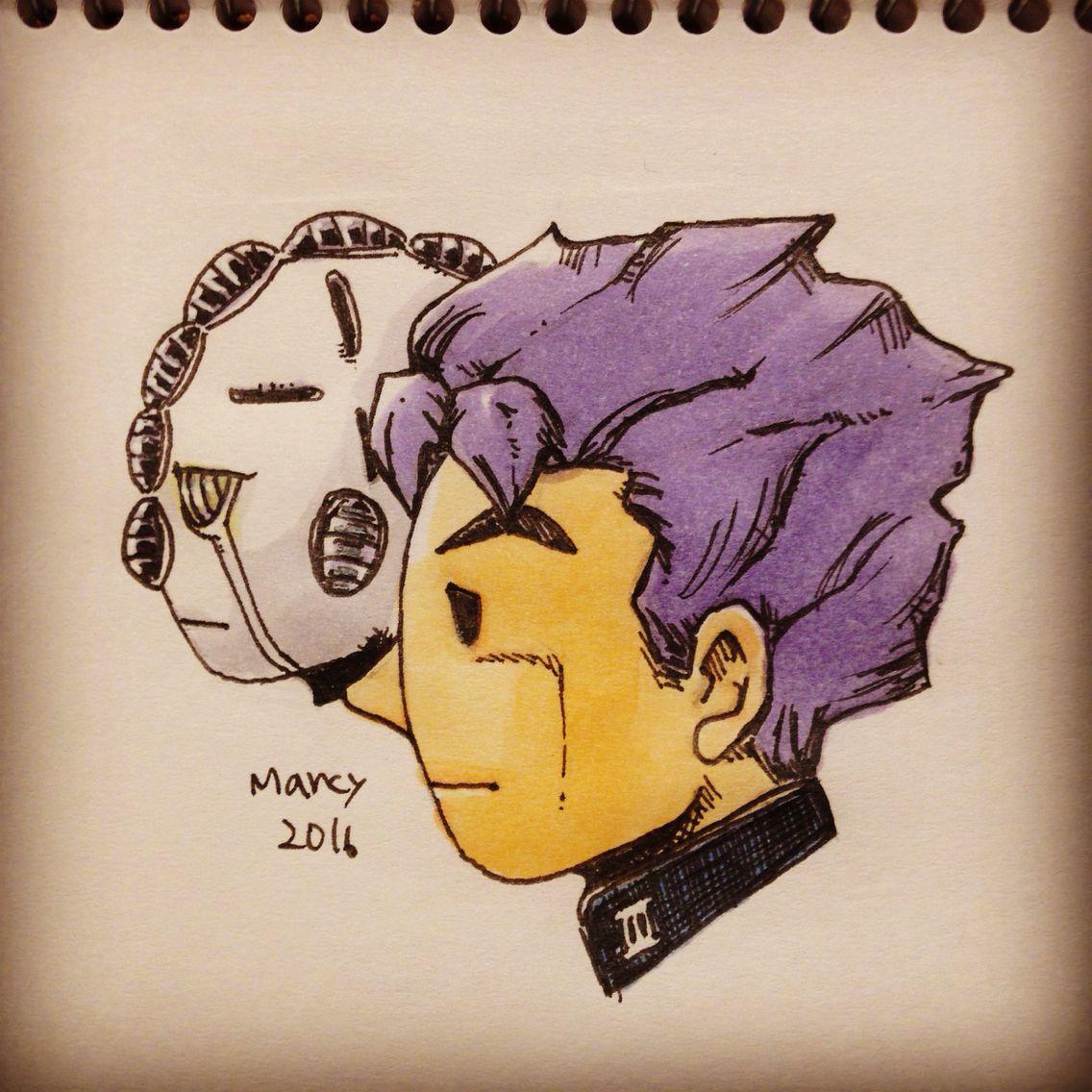 広瀬康一 #illustration #sketch #drawing #jojo #fanart