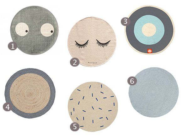 Ronde Vloerkleed Goedkoop : Vloerkleed vloerkleden babykamer kinderkamer accessoires