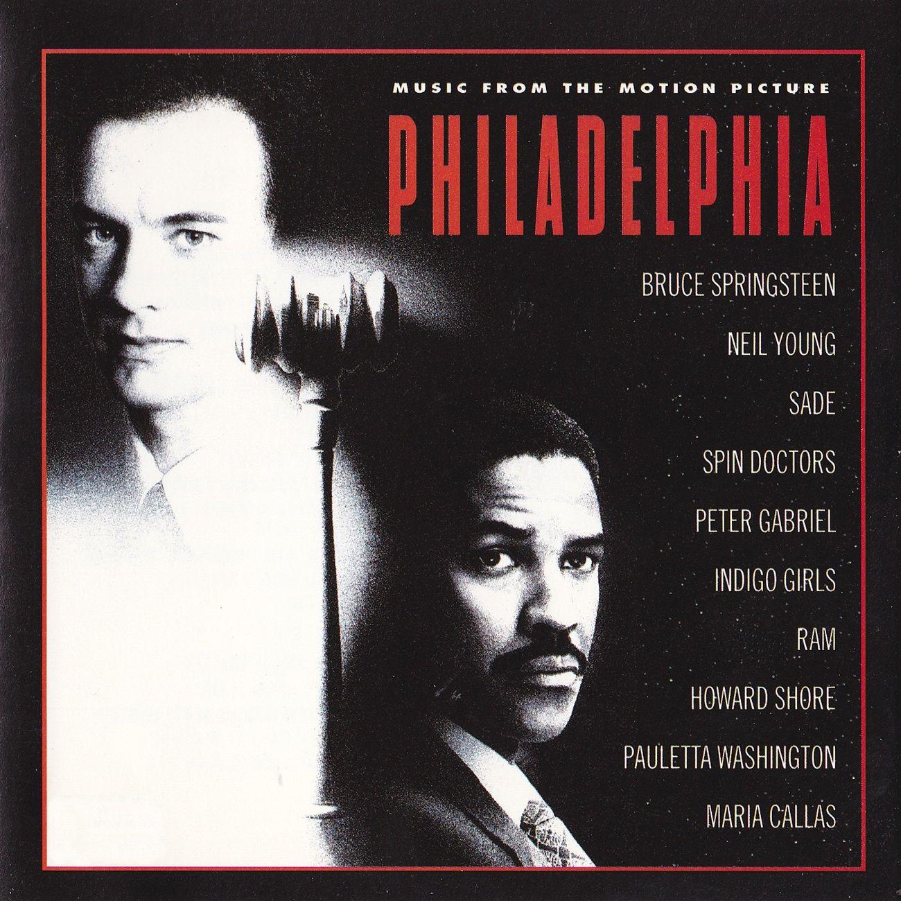 """Philadelphia"" movie soundtrack, 1993. Bruce springsteen"