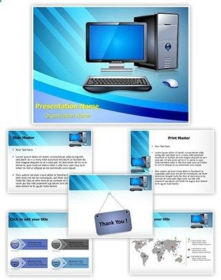 Computer Powerpoint Template Is One Of The Best Powerpoint Templates