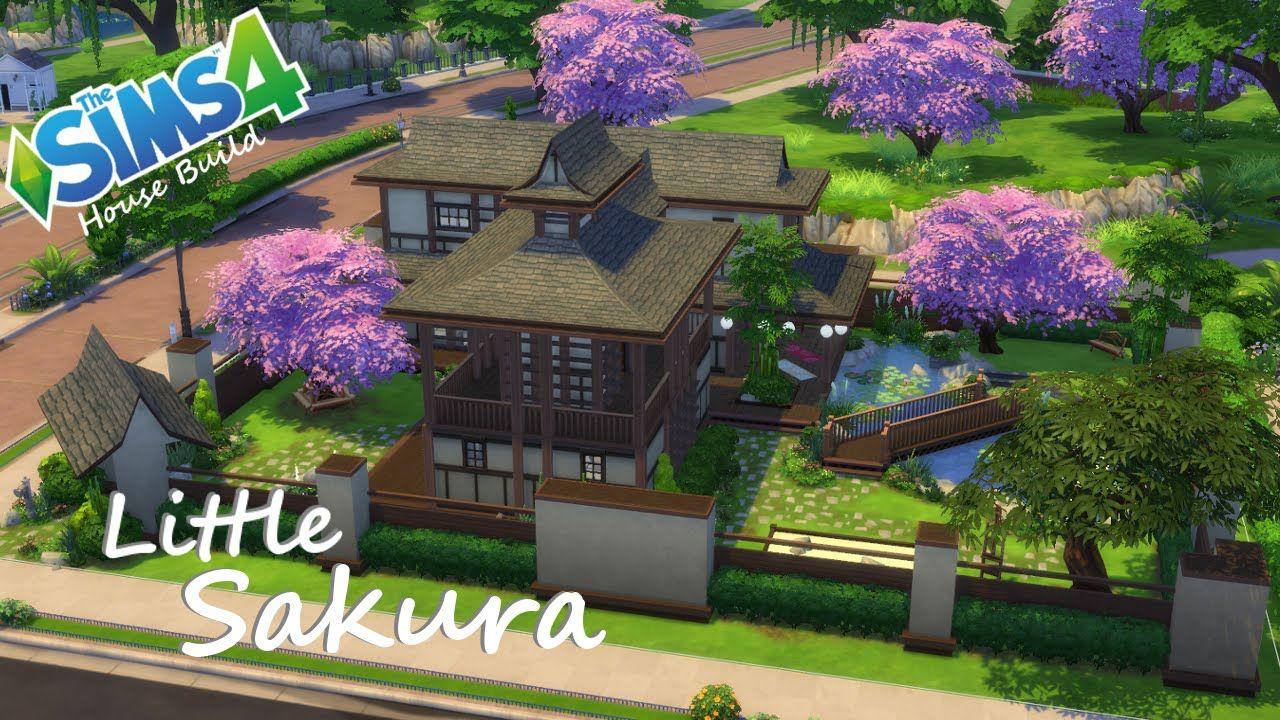 The Sims 4 House Build Little Sakura Sims 4 House Building Sims 4 Houses Sims Building
