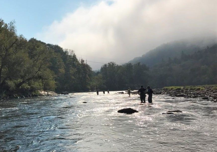 Fly Fishing Sponsored Activity In Stowe Vermont Fly Fishing Vermont Natural Landmarks