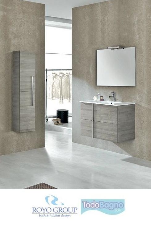 Conjunto mueble de ba o onix royo lavabo espejo Muebles de lavabo online