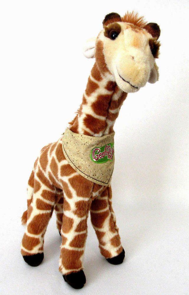 Toys Are Us Stuffed Animals : Geoffrey quot giraffe talking plush stuffed animal toy toys