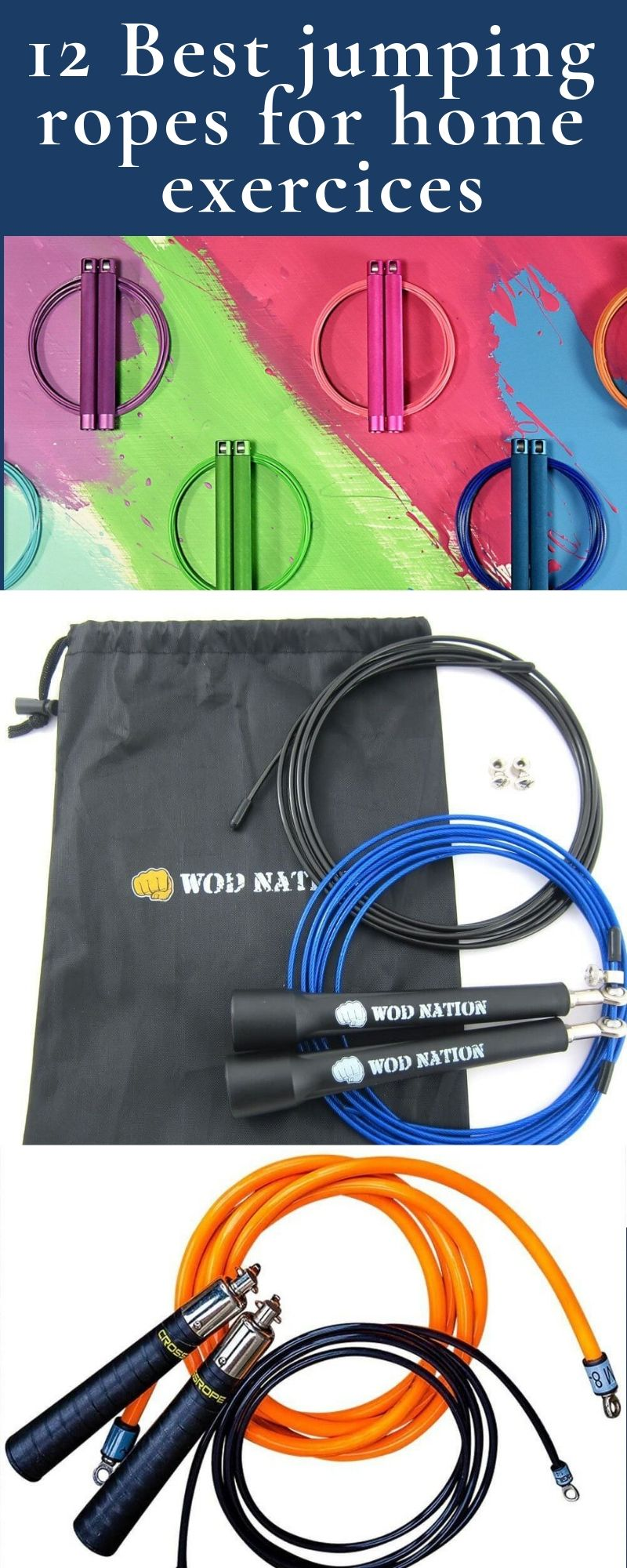 12 best jump ropes for working out. Jump rope games for kids
