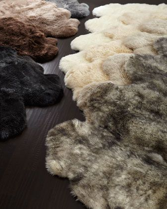 Rugs On Carpet Sheepskin Rug