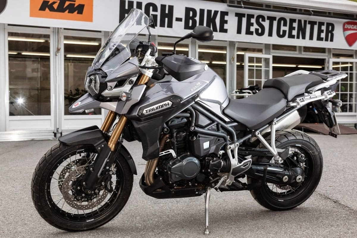 2016 tiger explorer xc in graphite | triumph motorcycles | 2016