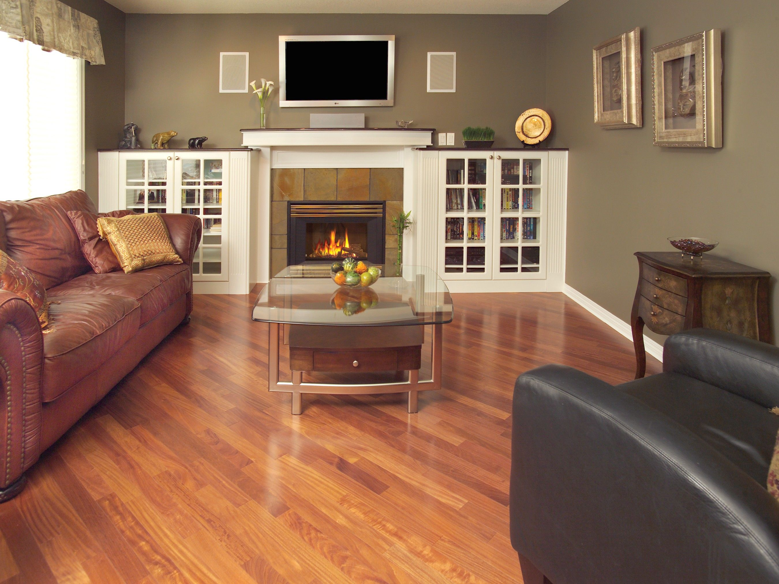 The Upcoming Freedom Blog Mentions The Room Enhancing Effects Of Diagonal  Flooring.
