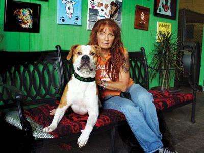 Tia Torres Villalobos Rescue Center Dog Love Pitbull Lover