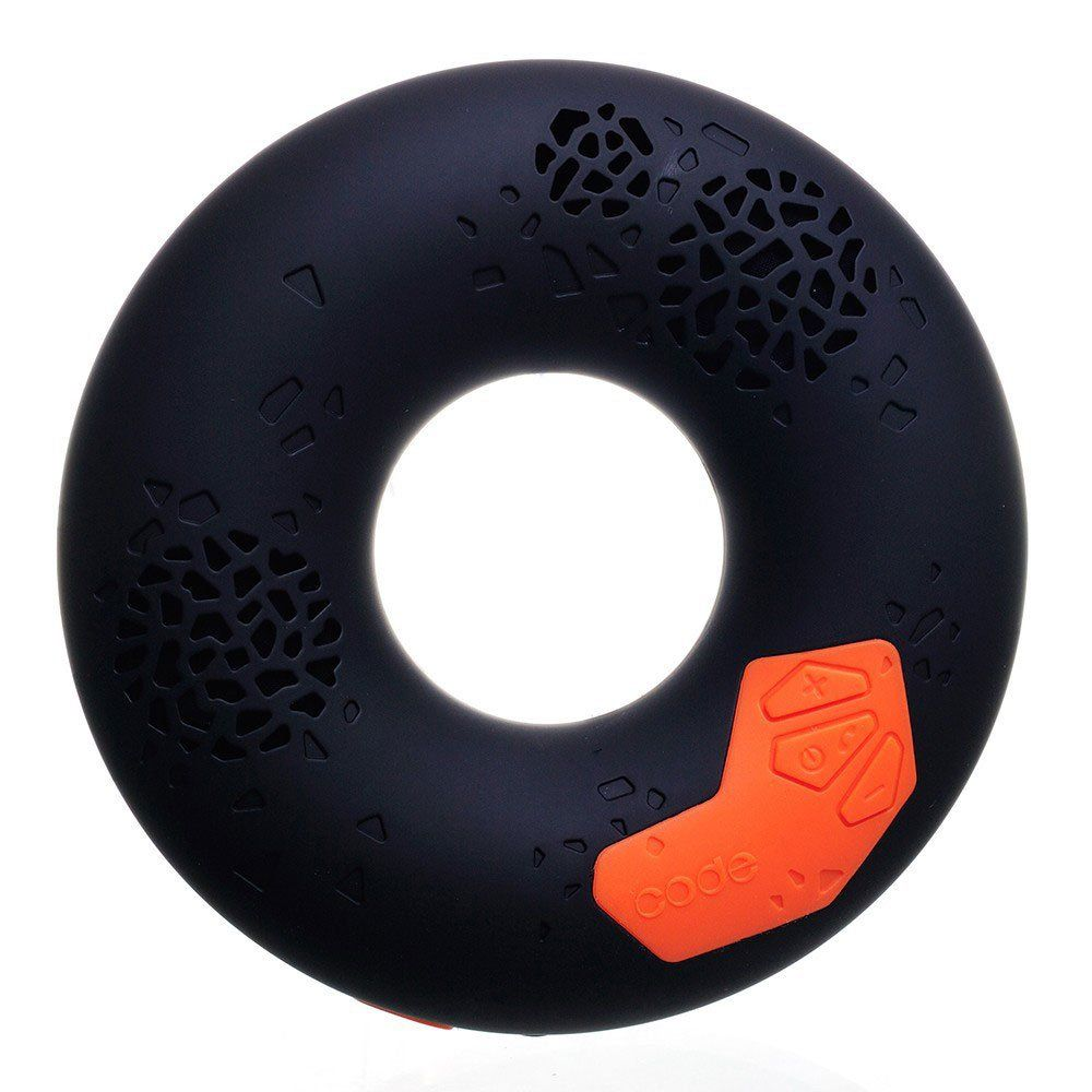 fun unique bluetooth speakers. Unique  fun and easy to use this Donut shaped Bluetooth speaker is great for CODE Premium Portable Wireless Speaker with NFC