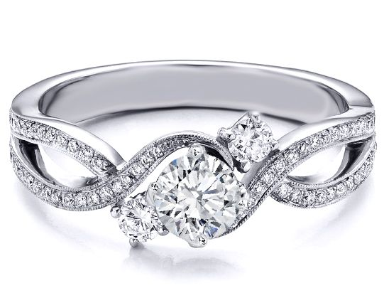 INFINITY ring!!! (Past - Present - Future) :0) [ · Infinity Ring  DiamondInfinity Engagement ...