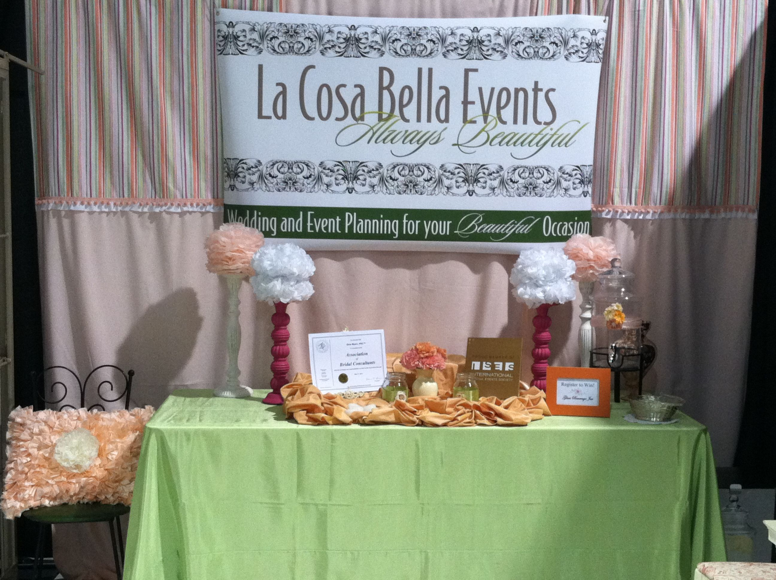 Wedding Planning Ideas: Wedding Planner Bridal Show Booth Ideas