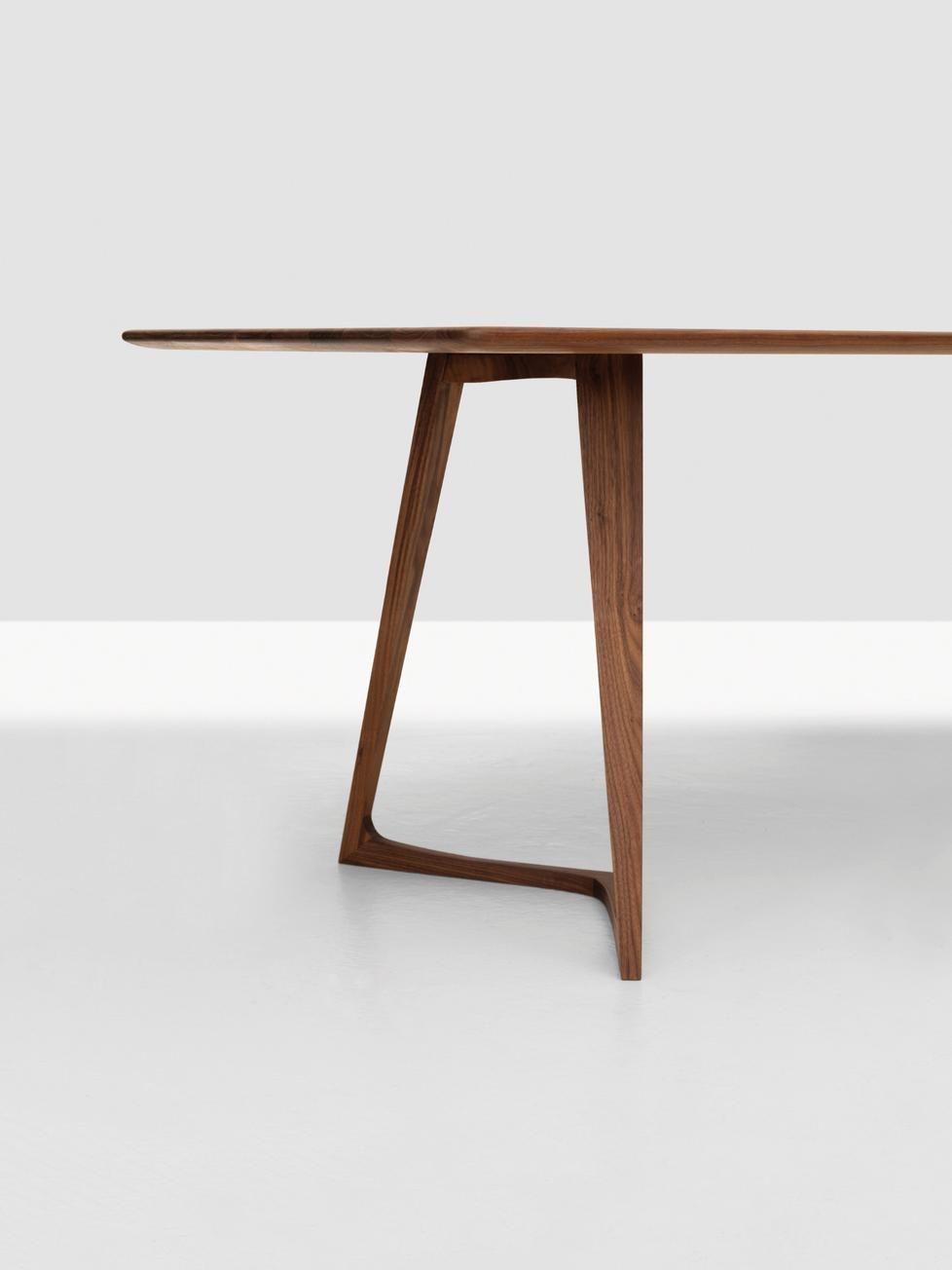 Tisch Twist Rectangular Von Zeitraum Möbel   Dieter Horn